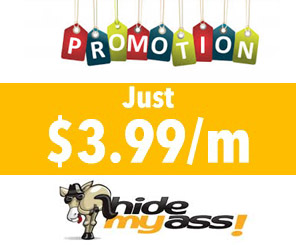 Promotions Hidemyass