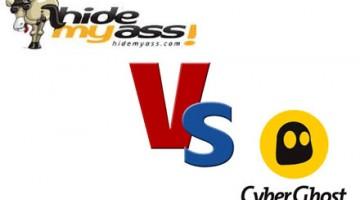 Hidemyass vs Cyberghost