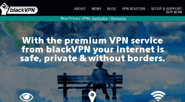Blackvpn site